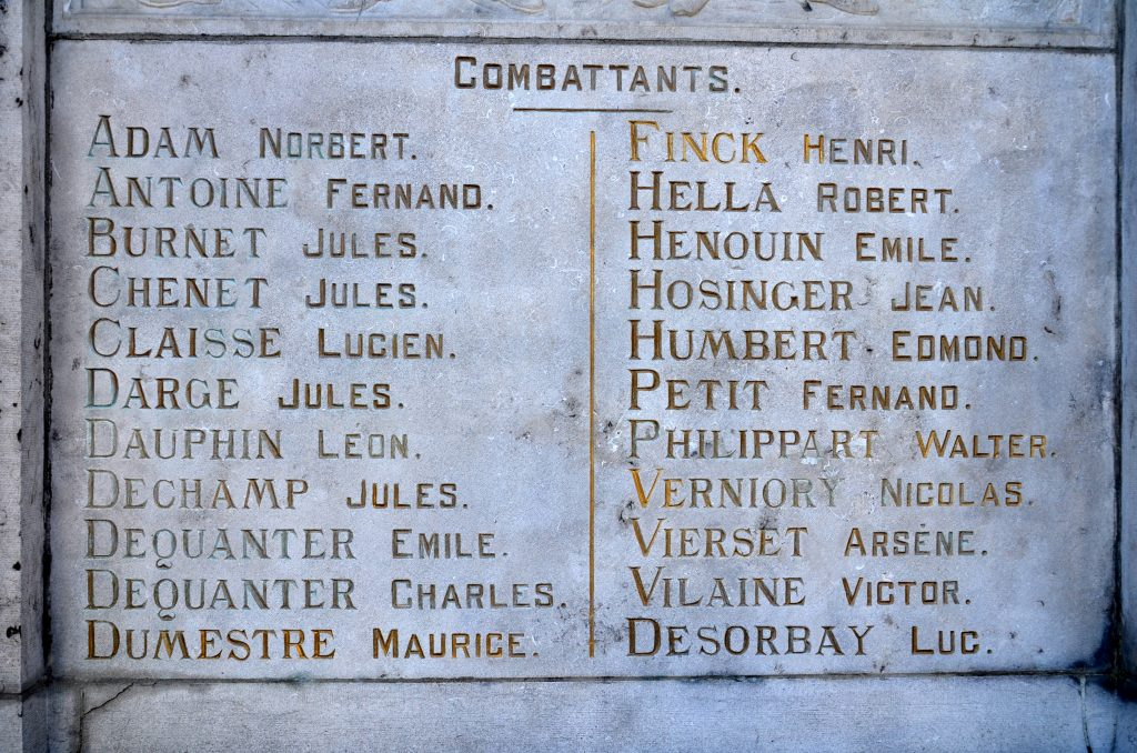 © FTLB/ Virton monument aux morts