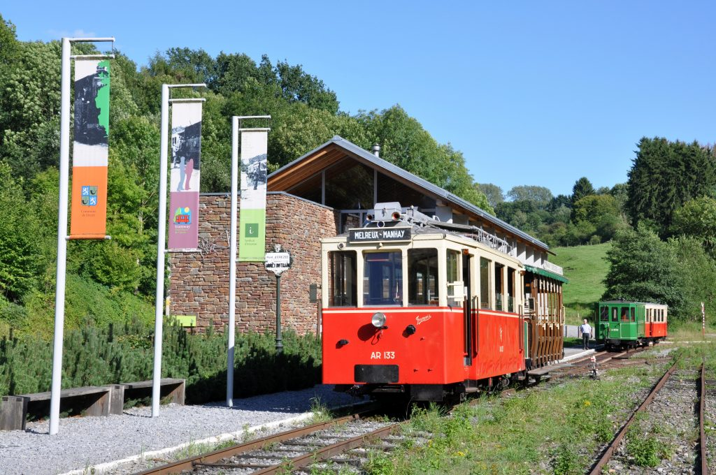 Tramway touristique de l'Aisne - Syndicat d'initiative d'Erezée © FTLB/ Willems